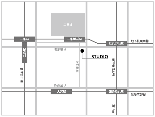 Ryosuke Fukusada studio map